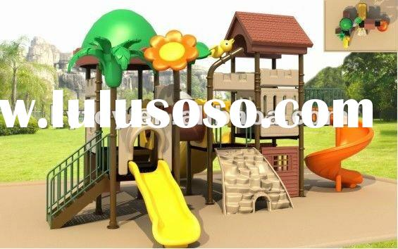 2012 new plastic tube slide playground, play ground equipment, kids playground picture
