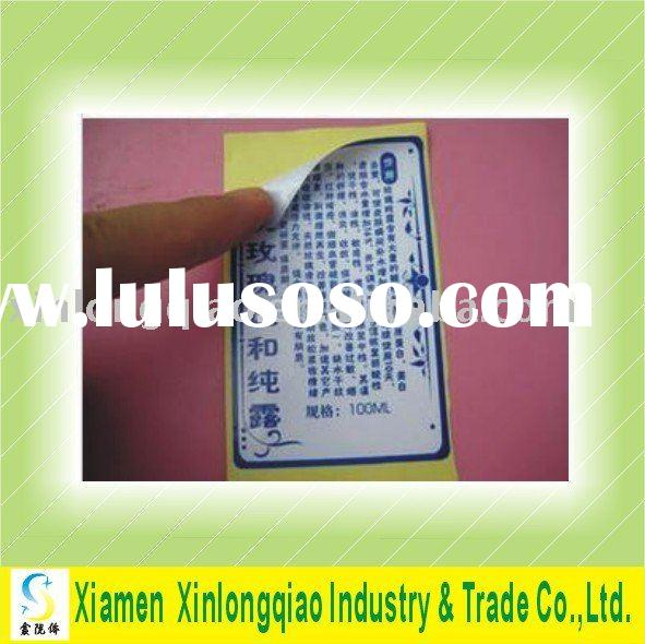 2012 printed a4 self-adhesive label for machines