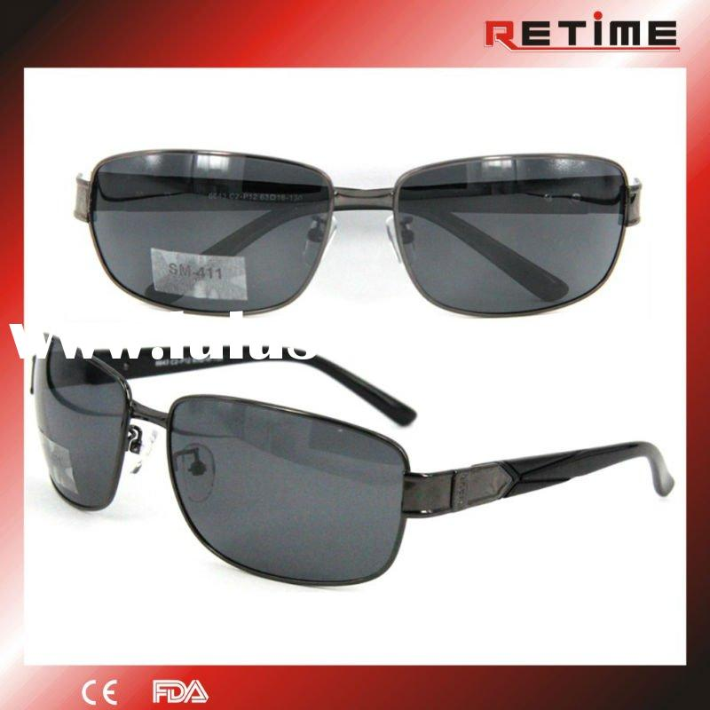 2012 top fashion polarized sunglasses for men(SM-411)