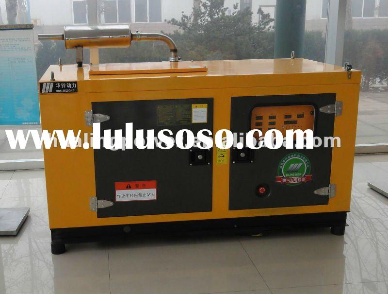 25-200 KW silent Natural wood gas generator