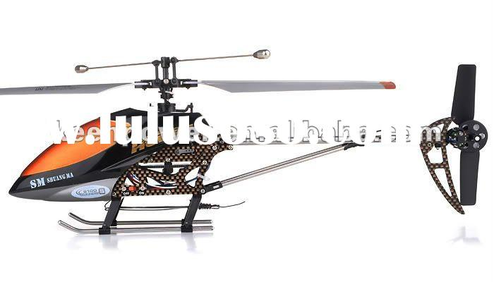 3CH RC Double Horse 9100 single bladed Co-Axial GYRO HELICOPTER