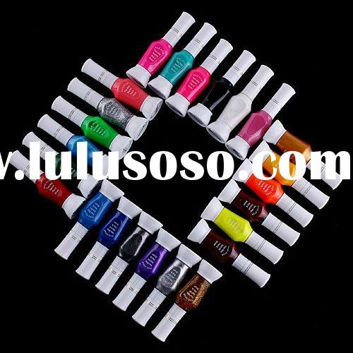 Brush Varnish Polish and Nail Art 2 Way Pen
