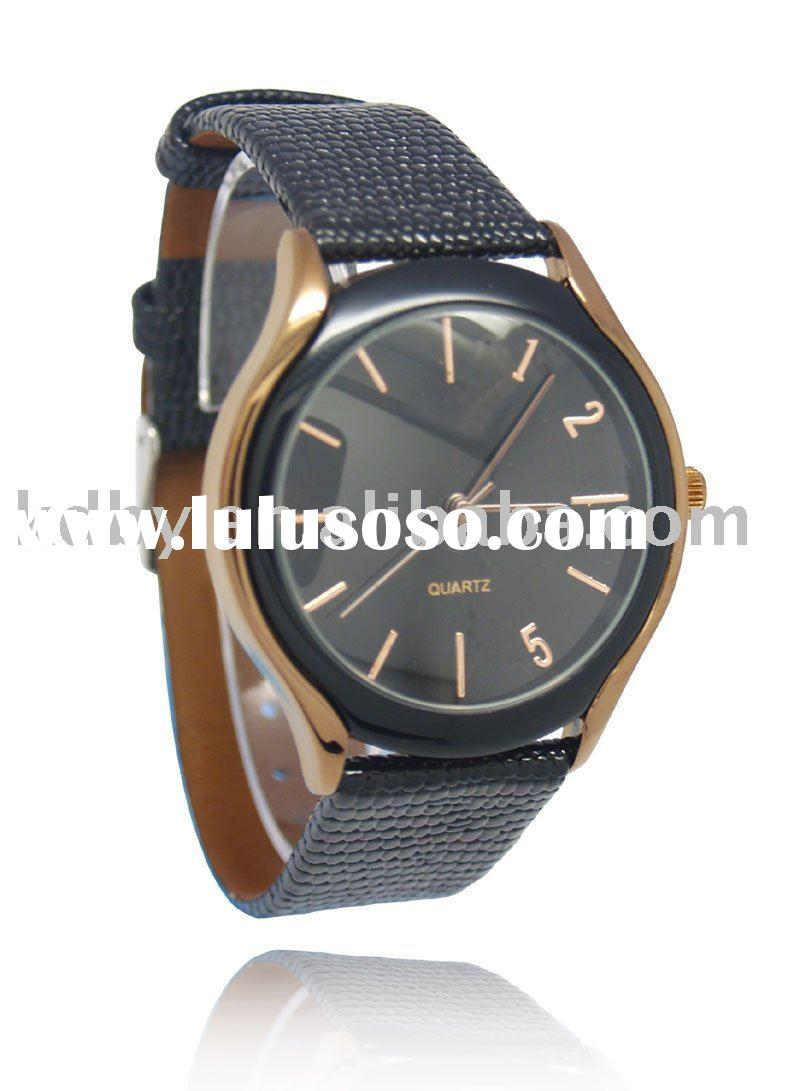 Hot Selling Men's Leather Band Watch