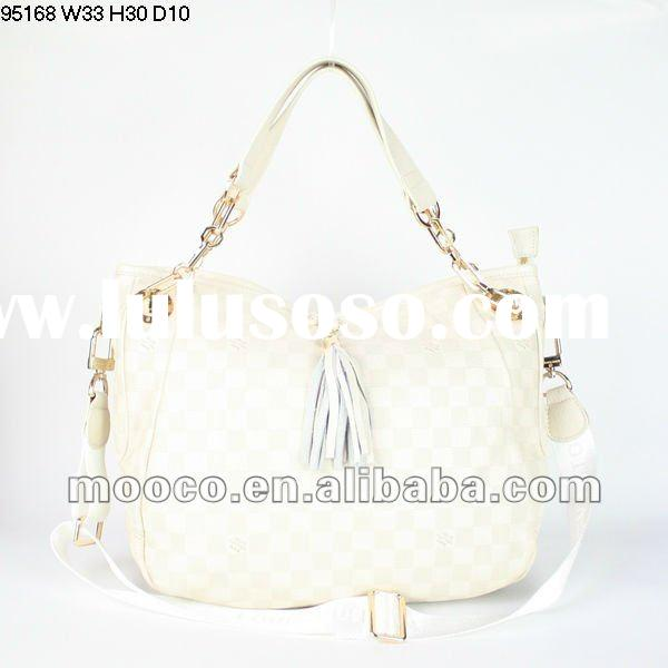Hot selling!Newest white brand name designer handbag authentic 95168