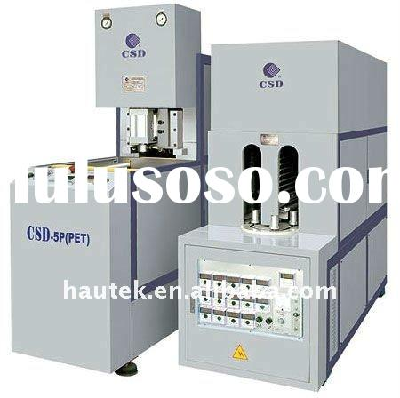 Semi-automatic 5-gallon water dispenser bottle blowing molding machine