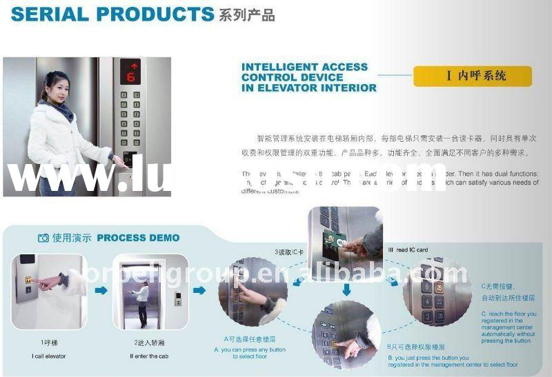 Swipe card access control, elevator IC card intelligent system