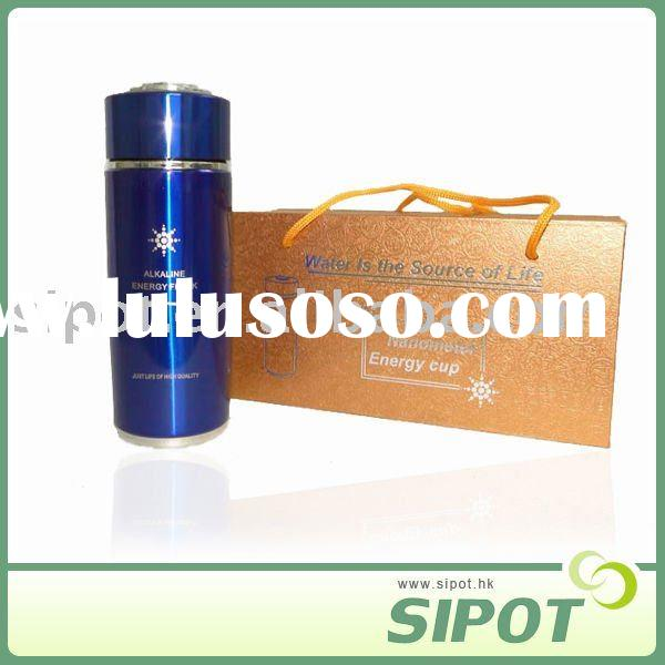 Tourmaline vacuum thermos alkaline energy nano water flask