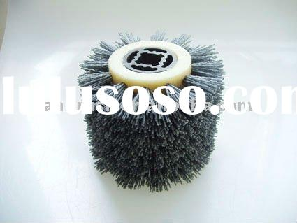 abrasive brushes disc industrial roller brush with professional factory