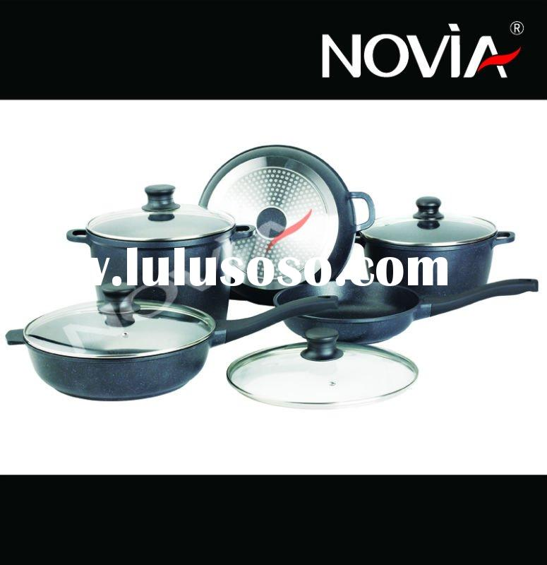 aluminum marble cookware