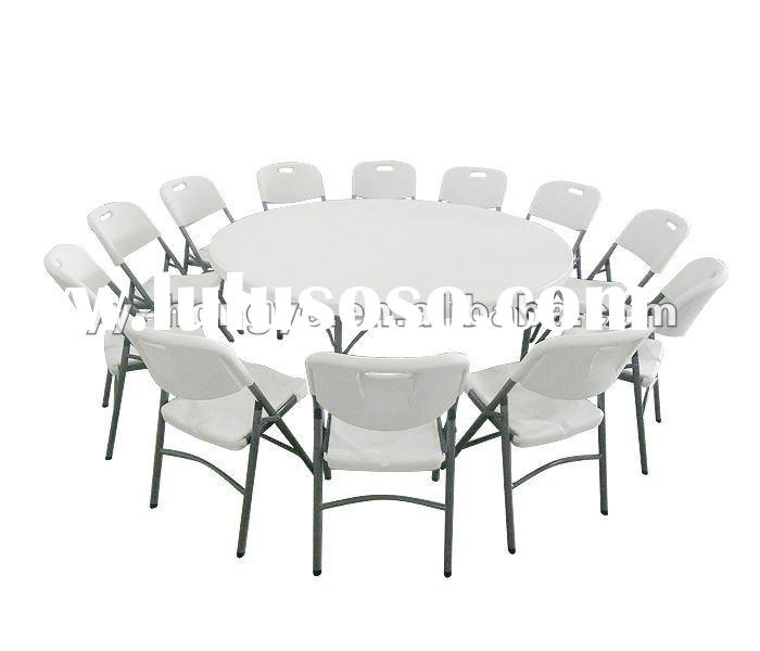 cheap plastic folding chairs(white,HDPE,blow mold,camping,banquet,dinning)