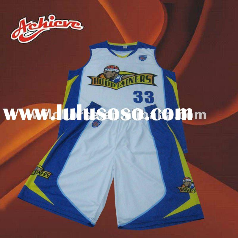 fashion new custom basketball jersey and short