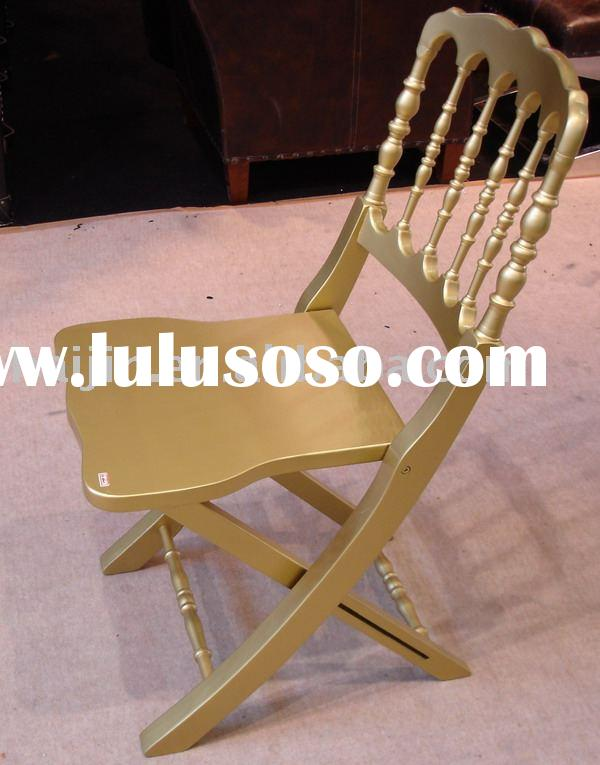 folding chivari wood chair