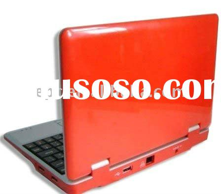 mini notebook smart book+VIA8650+Win CE 6.0 OS/Android 2.2 OS+USB*3+Ethernet*1+WIFI+netbook notebook