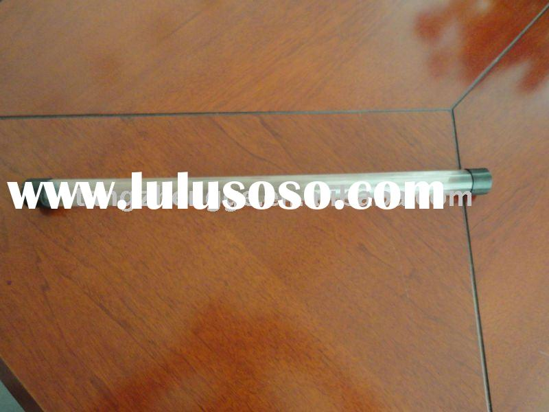 rigid clear pvc pipe with cap/transparent pvc tube
