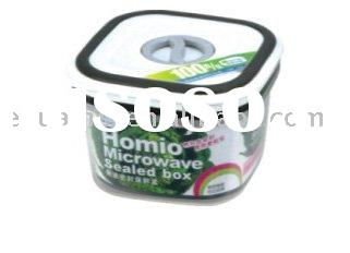 square microwave airtight box/plastic food container/airtihgt box/keeping-fresh box/plastic containe