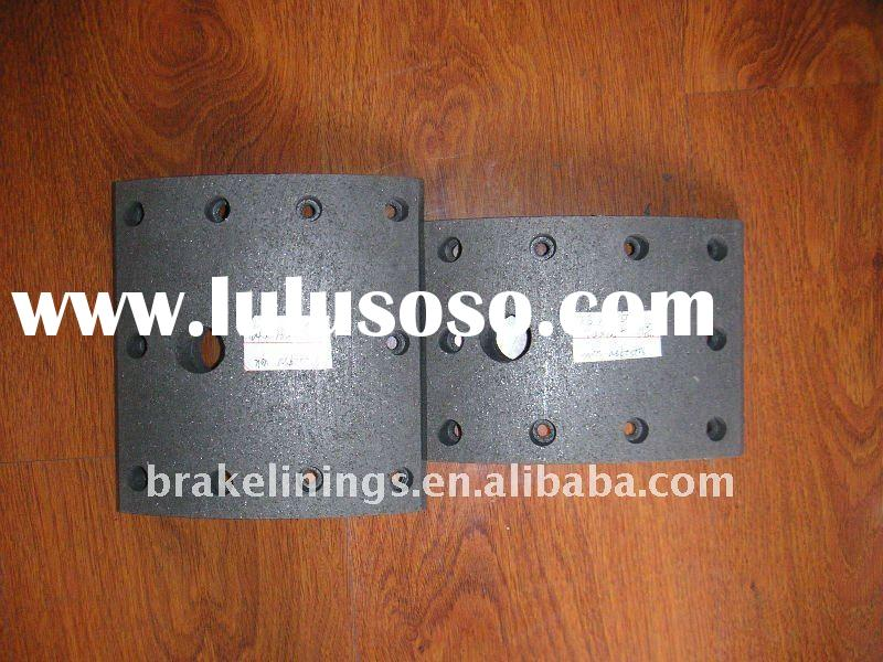 truck brake lining/heavy duty truck brake linings/ford/volvo/benz/merceds,asbestos free brake lining