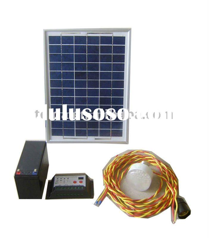 10w solar LED light system for home & house