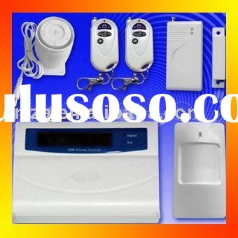118USD/SET GSM security alarm wireless gsm security alarm sms alarm gsm anti-burglary system (AF-GSM