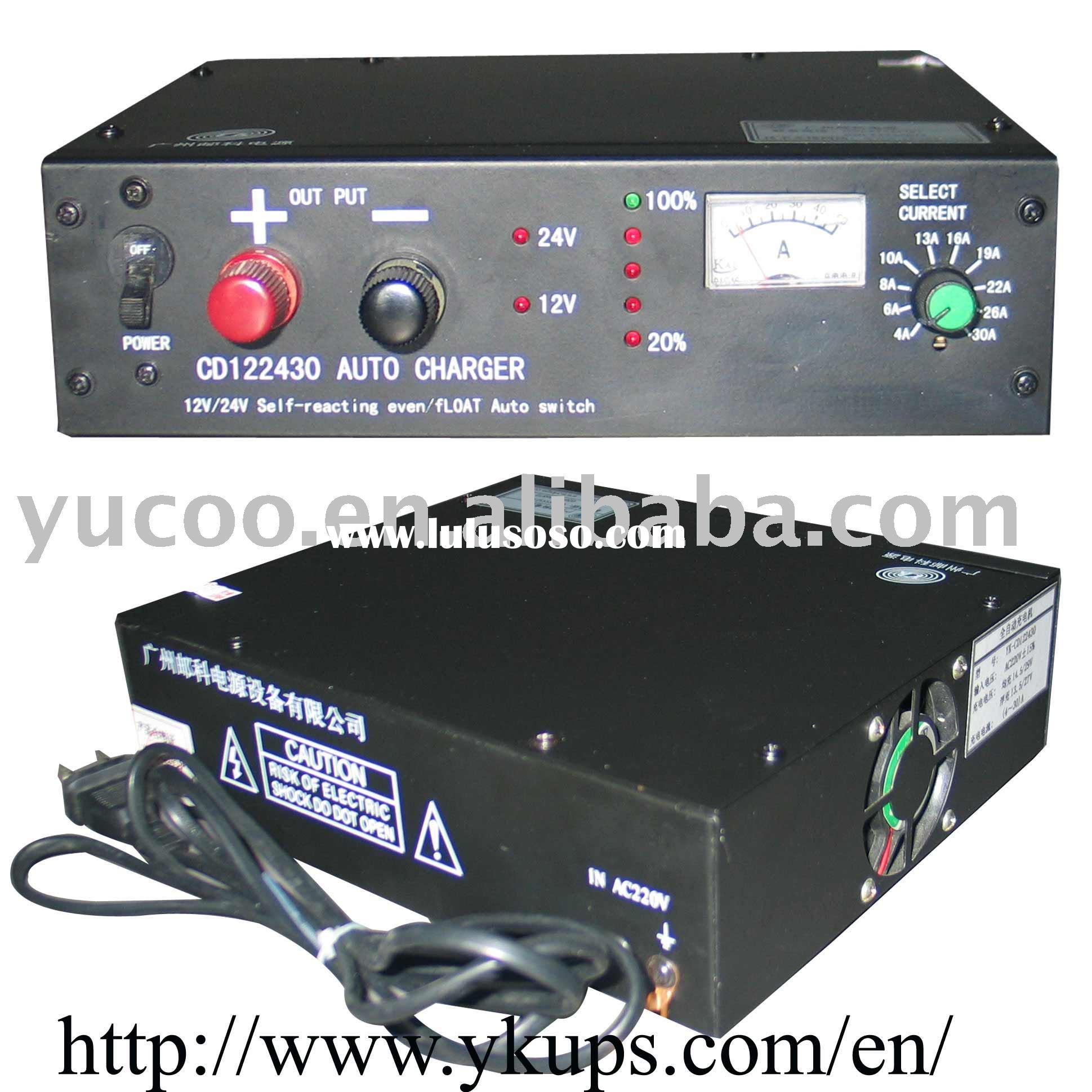 12/24VDC 30A Full Automatic Battery Charger