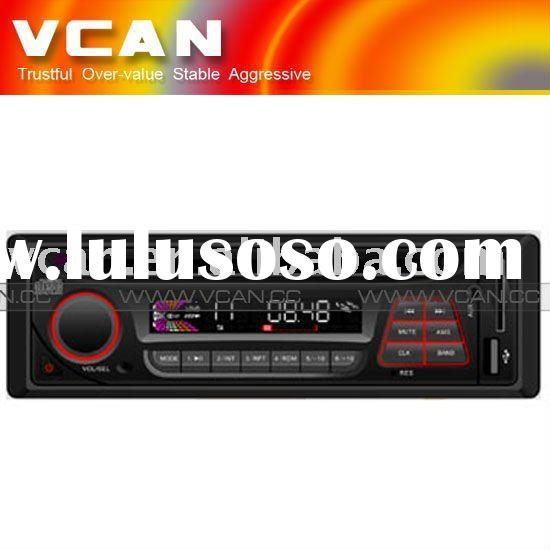 1 din Car radio with USB/SD card reader