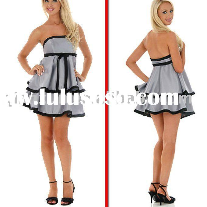 2010 most famous style mini evening dress evening gown