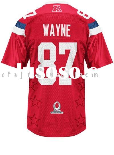 2011 Pro Bowl Indianapolis Colts Football Jerseys Reggie Wayne Authentic Sports Jersey 48-56 Paypal