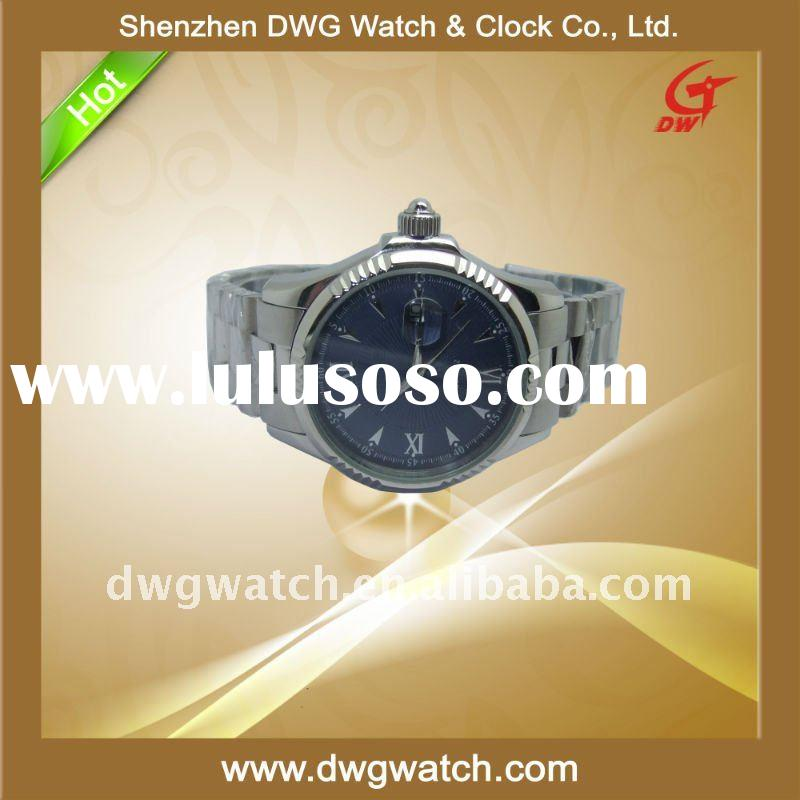 2011 Stainless Steel Band Watch with Miyota Movement DWG--M068