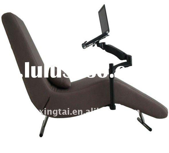 2012 DEMNI Stylish Camel recliner chair mechanism with adjustable laptop holder