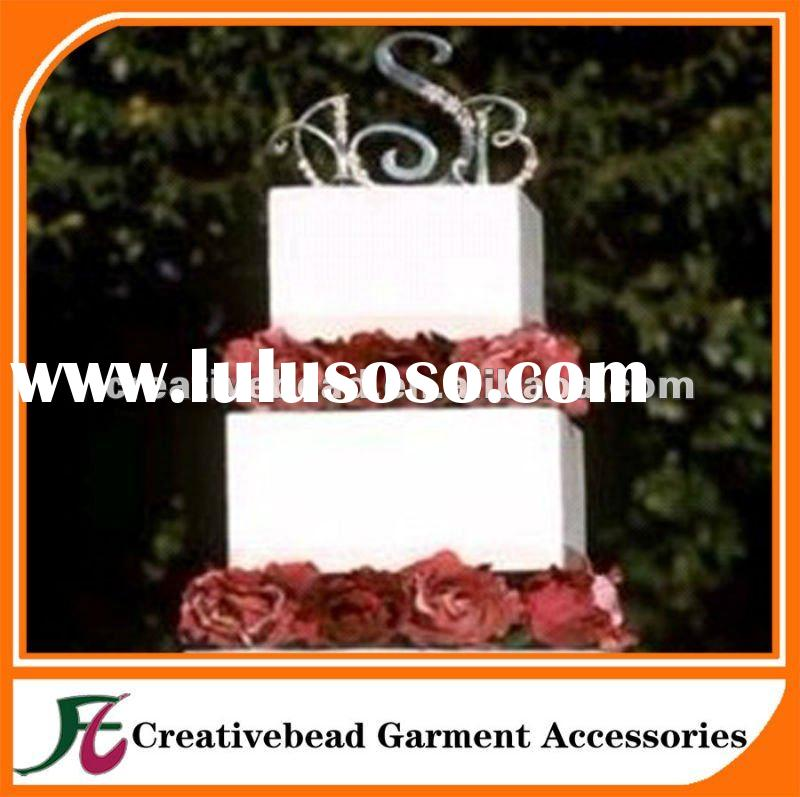 2012 NEW! Rhinestone Wedding Cake Toppers