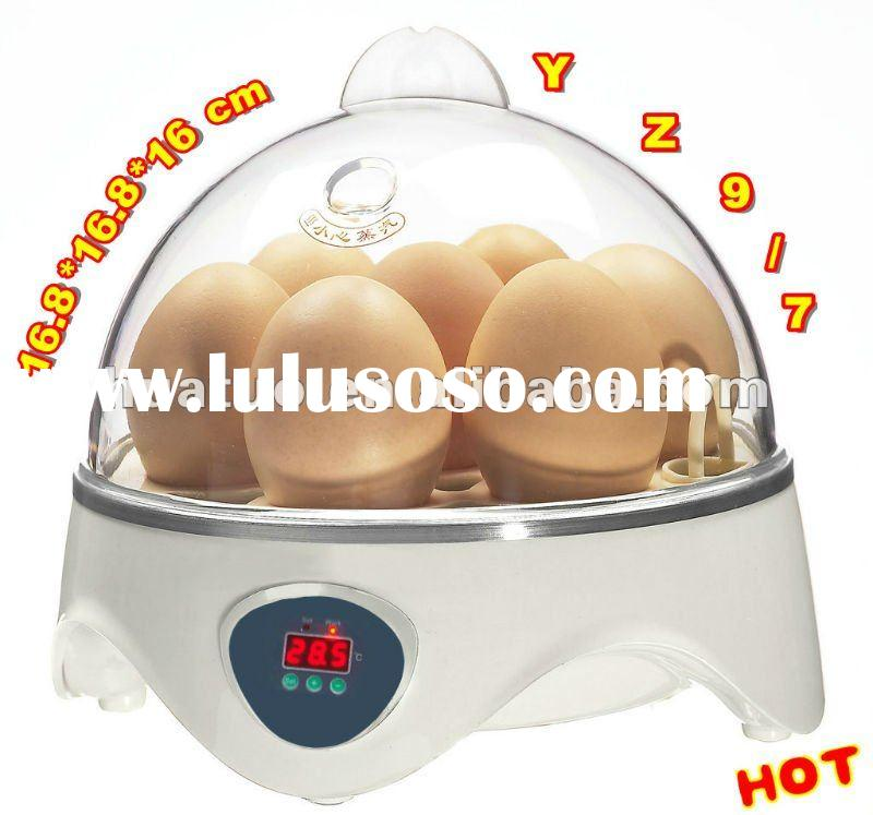 2012 Newest Colorful small Poultry incubator for hatching eggs YZ9-7(CE approved)