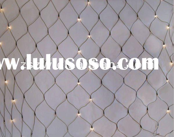2012 factory price led christmas lights twinkle light hotel lighting Unique Rice Bubble Net Light