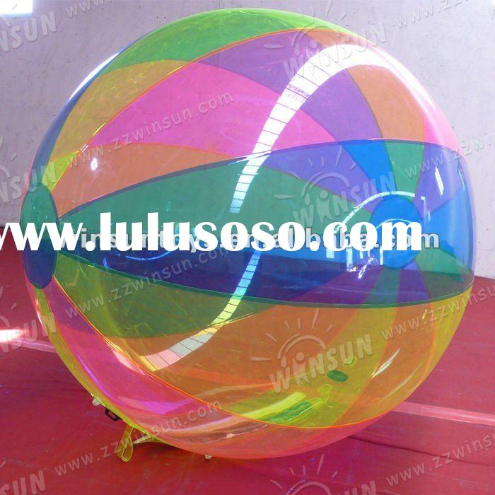 2012 hot-sale TPU inflatable water walking ball