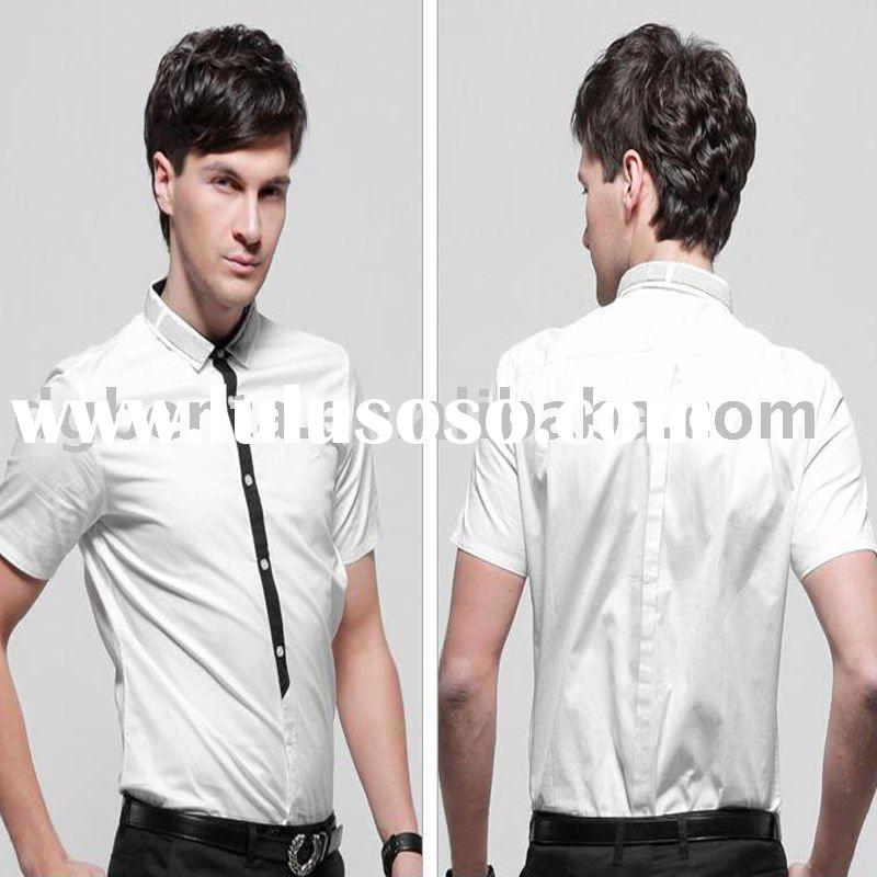 2012 shirts for men short sleeve cotton shirts casual shirsts for men designer casual shirts formal