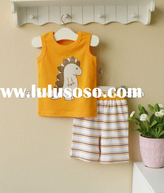 2012 summer wwwSUNcom Baby boy vest suit