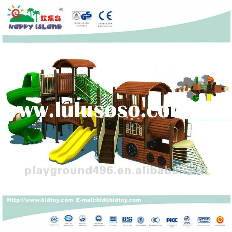 2012 train combined playground equipment for sale
