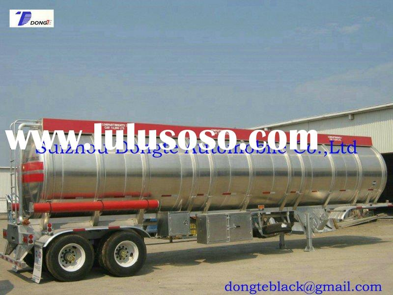 20~45M3 Aluminum Alloy Tank Semitrailer,Transport Crude oil,Jet fuel