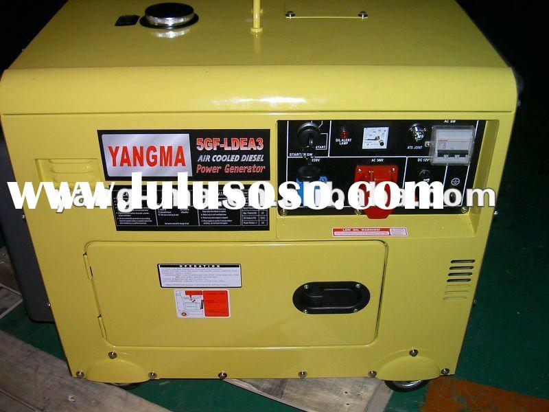 2KW-12KW portable Air cooled engine power same design of kipor type diesel generator (Silent/ATS)