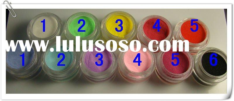 3D Color acrylic powder for nail art , Acrylic 3D Nail Art powder (CRST-3DPWD-0004)