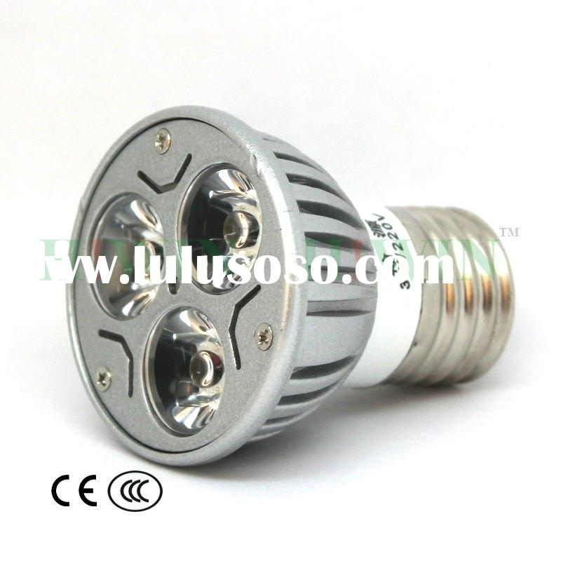 3W White E27 led bulb LED spot Lamp led bulb mr16