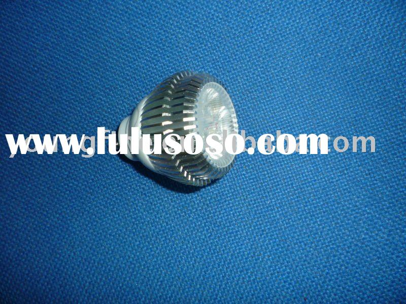 3*1W E27,GU10,MR16 High power led lamp cup