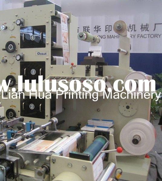 4 Color Flexographic Digital Label Printing Machine(HJRY420B)