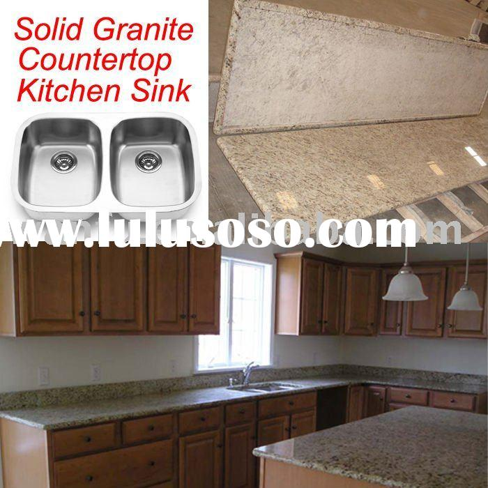 50/50 Stainless Steel Sink with Granite countertop