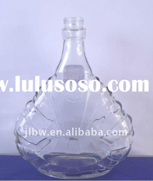 750ML flint glass custom bottle made in china