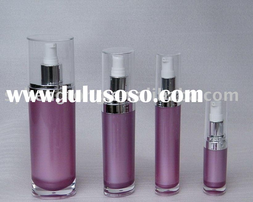 Acrylic lotion bottle cosmetic packaging