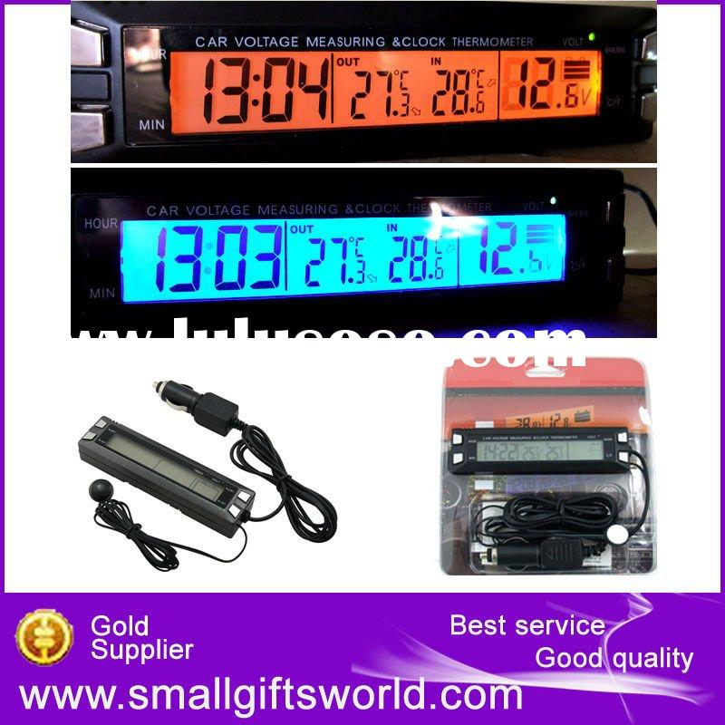 Auto Car Thermometer Battery Voltage Meter Diagnostic Tools