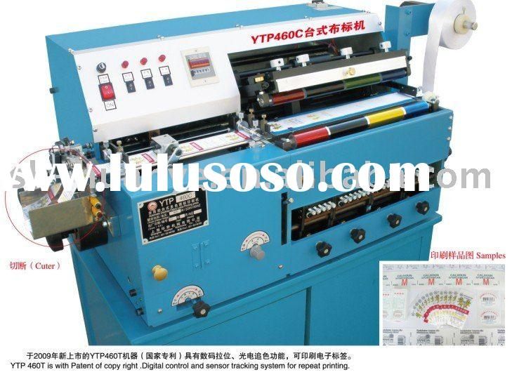 Automatic Offest Label printing machine 4 Colors with Offset Ink