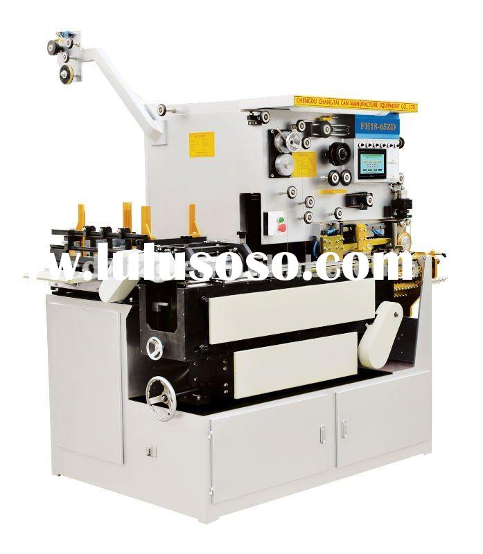 Automatic tig welding machine/tin can making equipment/auto rectangular tin can making machine