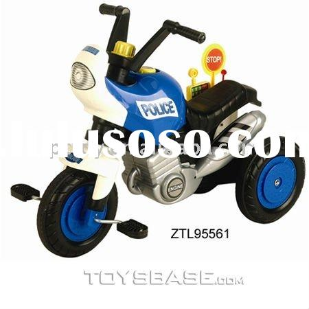Baby trike kids pedal car police ride on car