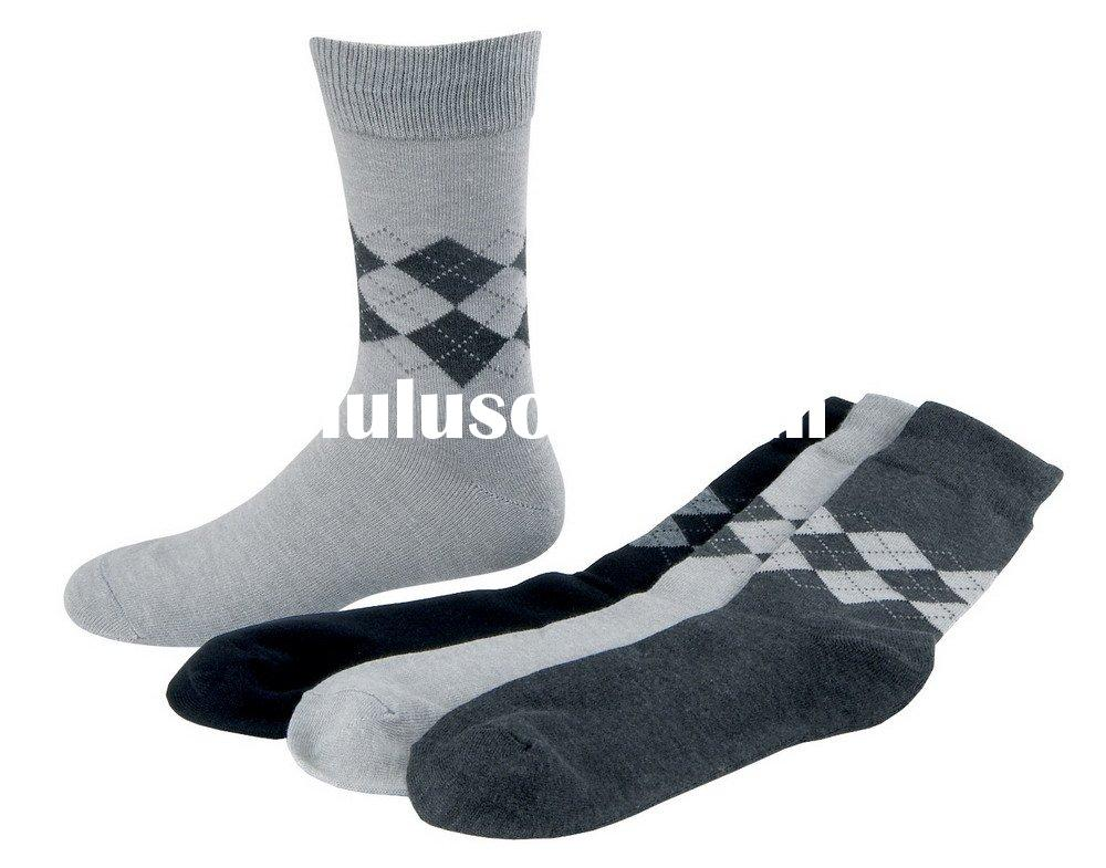 Bamboo charcoal cotton socks - men's socks