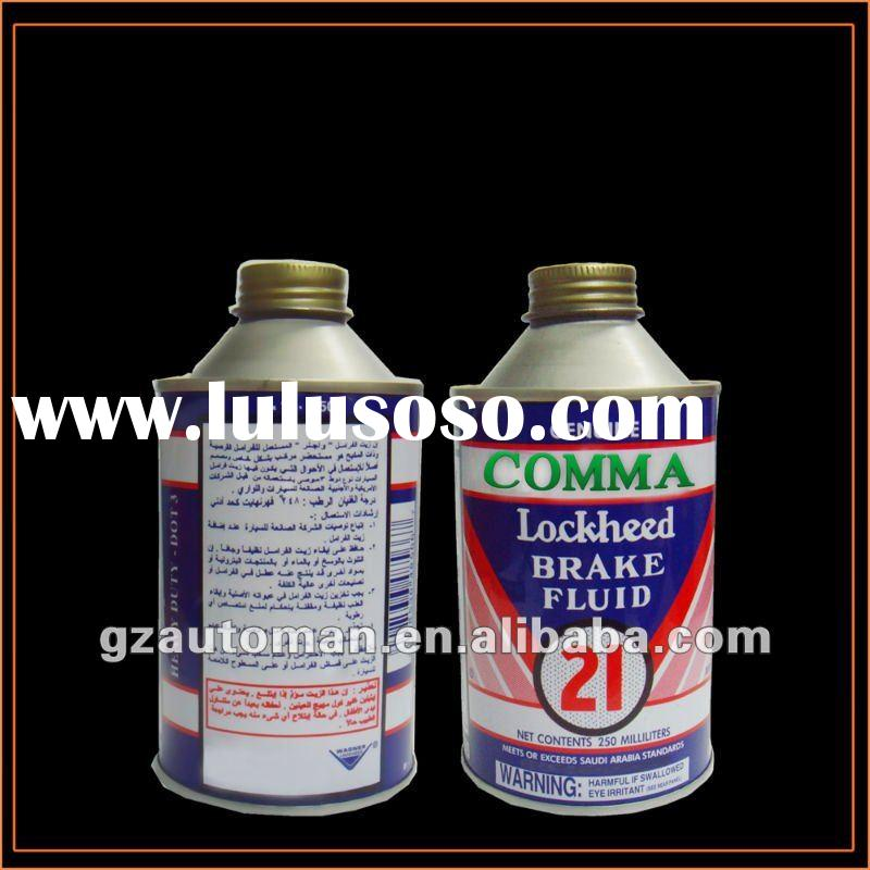 Brake Fluid DOT3 & DOT4 of Engine Oil
